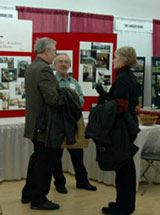 Participants Talking Together at the Home Remodeling Fair